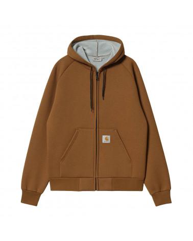 Carhartt Wip Car-Lux Hooded Jacket Tawny/Grey