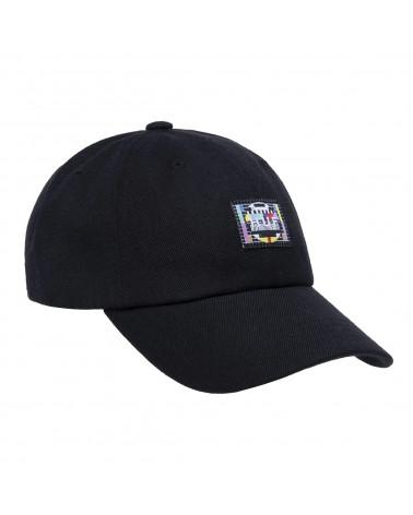 HUF Cappello Test Screen Curved Visor 6-Panel Hat Black