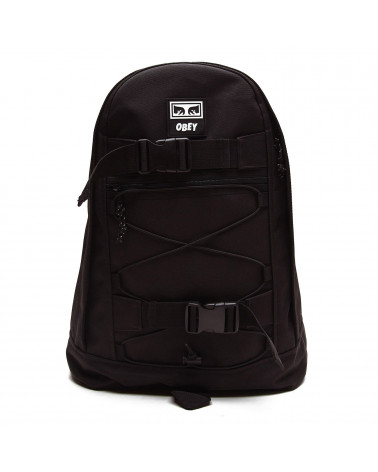 Obey Zaino Condition Utility Day Pack Black