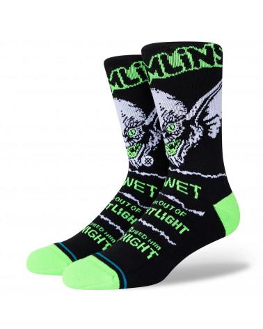 Stance Bright Light Crew Socks Black