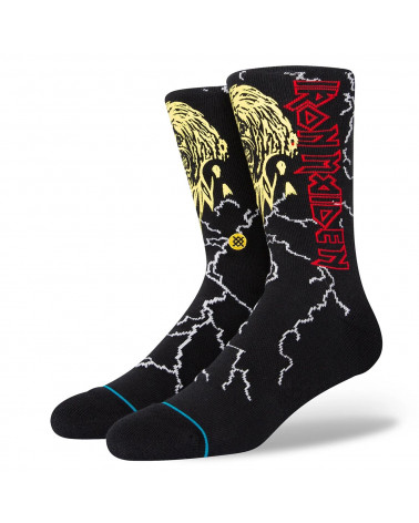 Stance Night City Crew Sock Black
