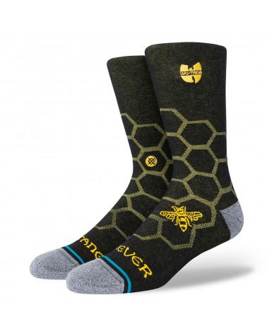Stance Hive Crew Sock Black