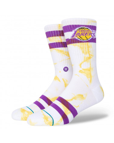 Stance Lackers Dyed Crew Soks Gold