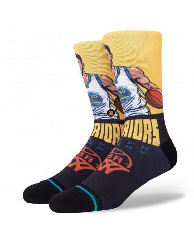 Stance Calze Graded Steph Crew Sock Gold
