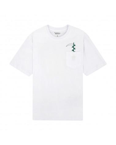 Doomsday Green Thumb Pocket T-Shirt White
