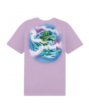 Doomsday Surf In Hell T-Shirt Lilac