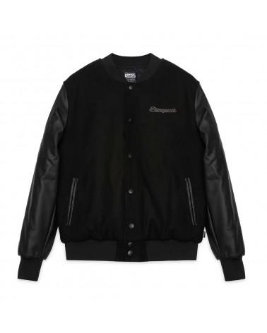 Propaganda Baseball Varsity Jacket Black