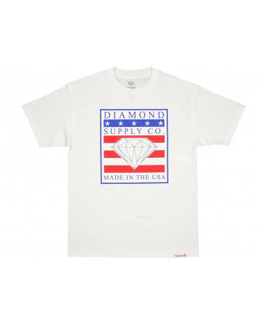Diamond Supply Co. - Made In USA Tee - White