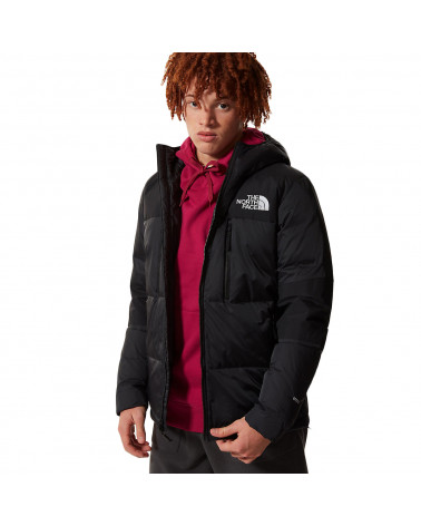 The North Face Giacca Himalayan Light Down Hoodie Black