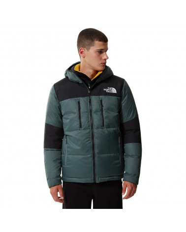 The North Face Himalayan Light Down Hoodie Balsam Green