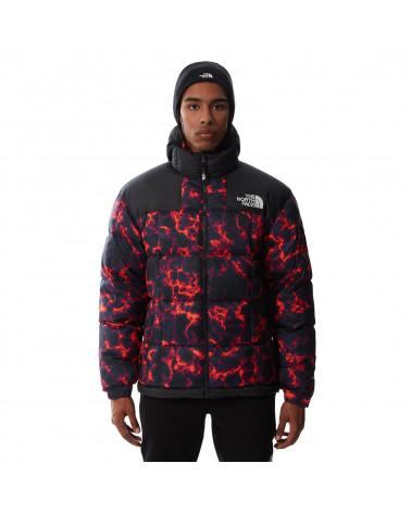 The North Face Lhotse Jacket Black Marble Camo Print