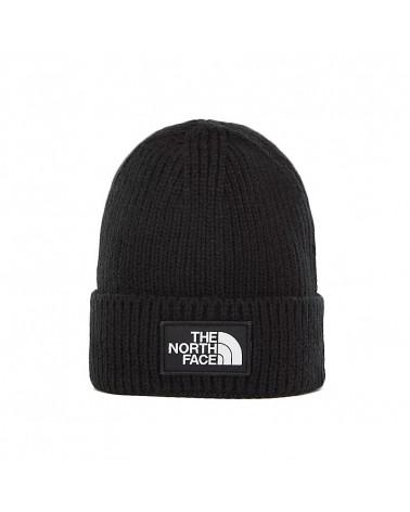 The North Face Cappello Logo Box Cuff Black