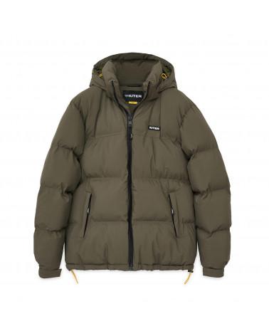 Iuter Puff Jacket Army