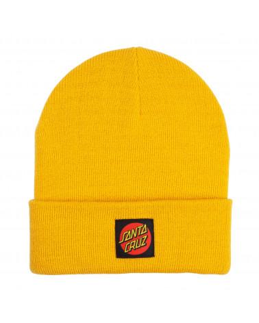Sabta Cruz Cappello Classic Label Beanie Mustard