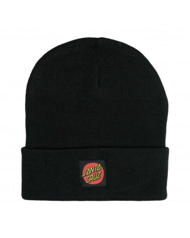 Santa Cruz Classic Label Beanie Black