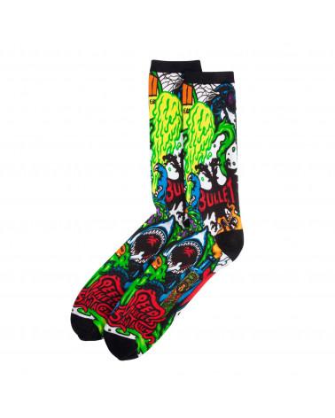 Santa Cruz SW Logo Mash Socks