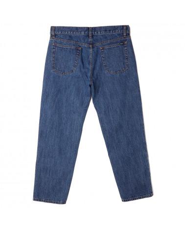 Obey Pantalone Bender '90 Denim Stone Wash