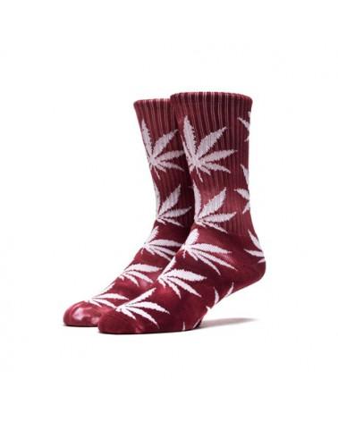 HUF - Tie Dye Plant Life Sock - Wine