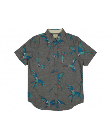 Vans - Shirt Keyes New Charcoal Di