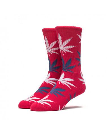 HUF - Calze Tie Dye Crew Sock - Red/White/Blu