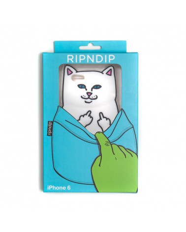 RIPNDIP - Lord Nermal iPhone Case White