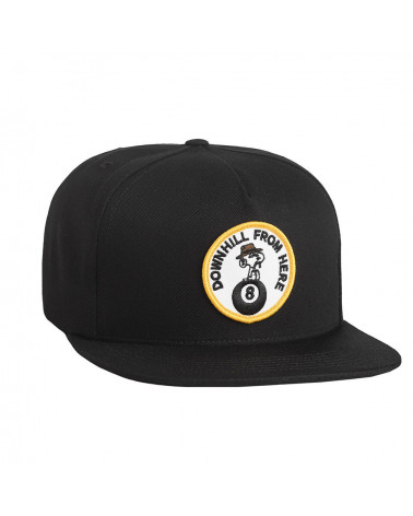 HUF - Spike Snapback - Black