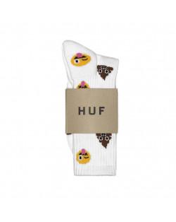 HUF - Shit Head Crew Sock - White