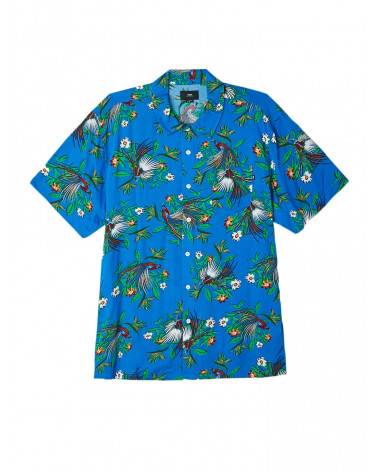 Obey - Camicia Paradise Shirt - Blue Multi
