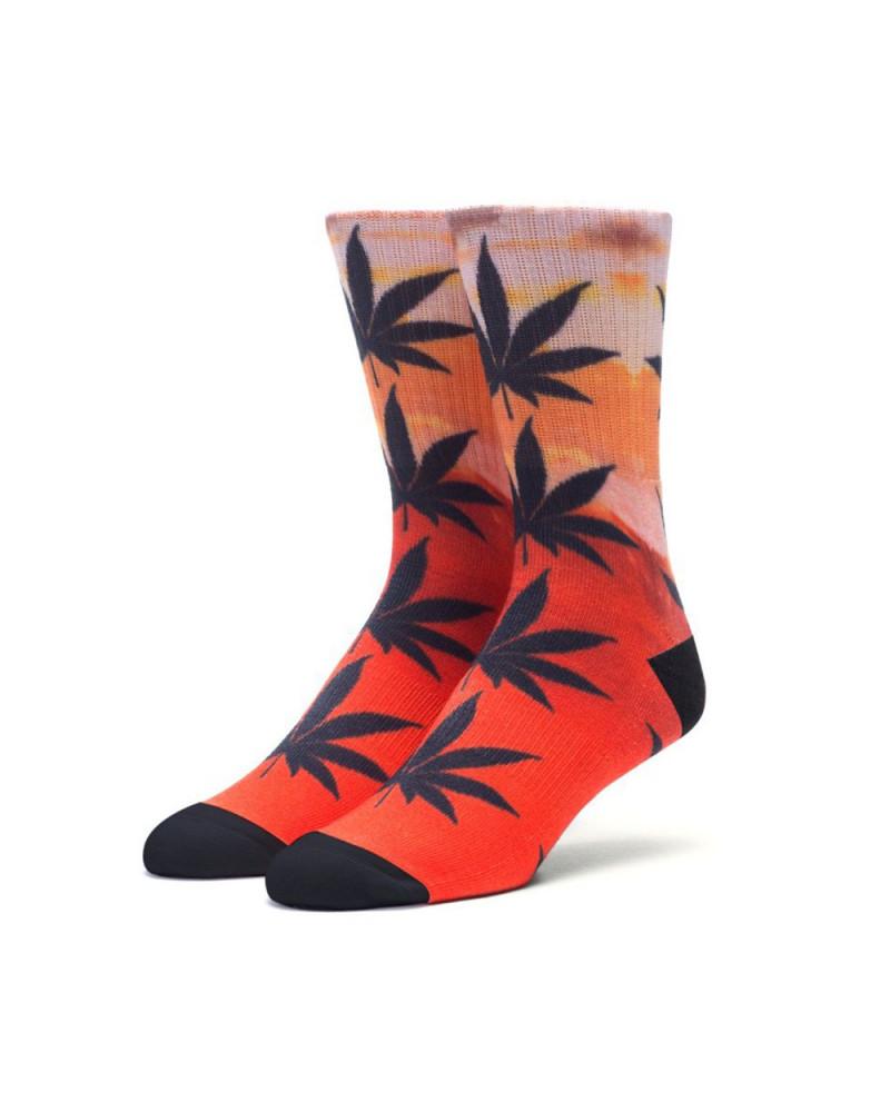 HUF - Digital Plantlife Crew Sock - Sierra