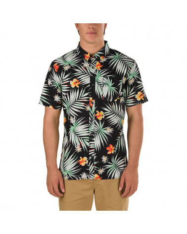 Vans - Shirt Daintree - Black Decay Palm