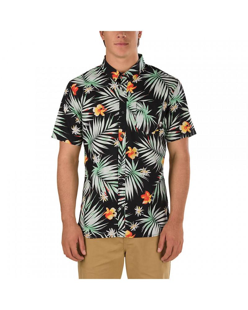 Vans - Shirt Daintree - Black Decay Palm