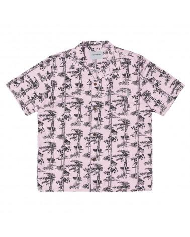 Carhartt - Camicia Pine Hawaii Shirt - Vegas Pink/Black