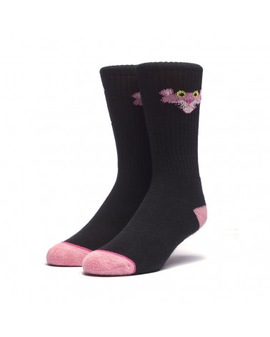 HUF X Pink Panther - Classic H Sock - Black