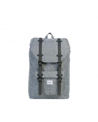 Herschel - Zaino Little America Backpack Mid-Volume - Raven Crosshatch