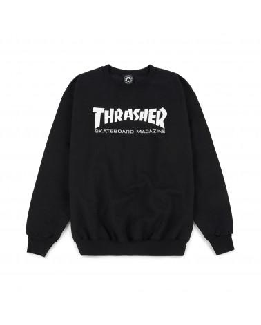 Thrasher Magazine - Felpe Skatemag Crewneck - Black