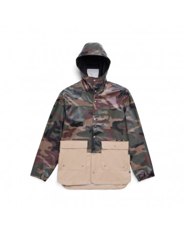 Herschel - Forecast Parca Men' s Jacket - Woodland Camo/Incense
