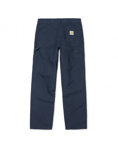 Carhartt - Pantalone Single Knee Pant - Navy Rinsed