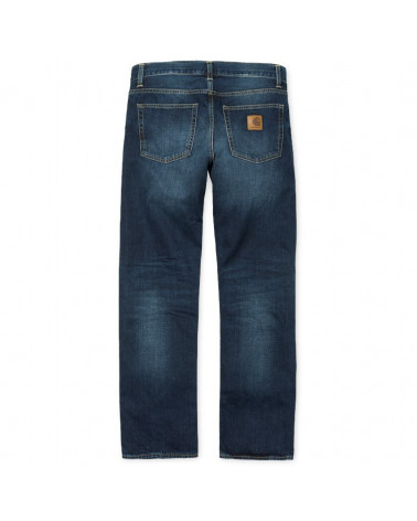 Carhartt - Jeans Davies - Blue Natural Dark Wash