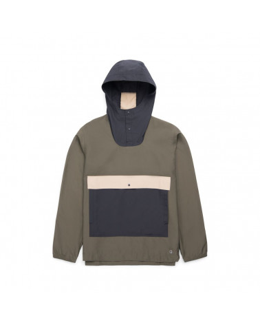Herschel - Voyage Anorak Men' S Jacket - Forest/Black