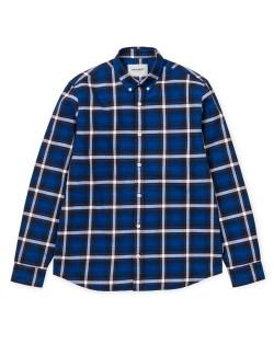 Carhartt - Lamont Shirt - Lamont Check/Blue Deep