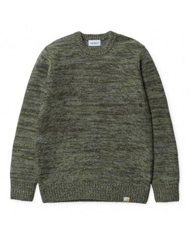 Carhartt - Accent Sweater - Cypress/Dollar Green/Dark
