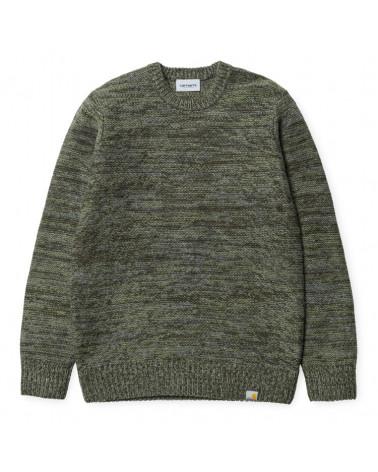 Carhartt - Maglione Accent Sweater - Cypress/Dollar Green/Dark