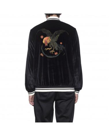 HUF - Giacca Wild Cock Bomber Jacket - Black
