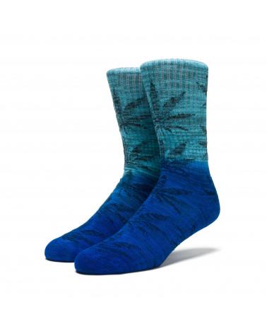 HUF - Calze Dippin Plantlife Crew Sock - Ocean