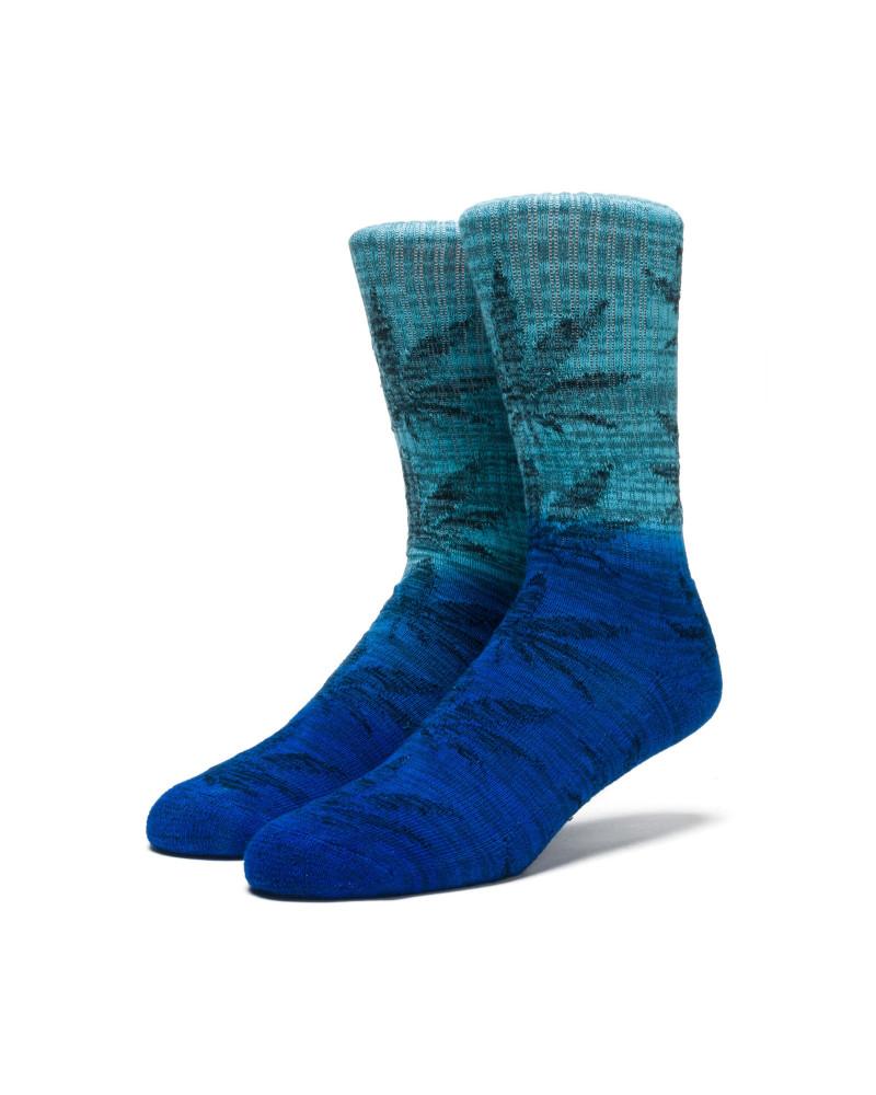 HUF - Dippin Plantlife Crew Sock - Ocean