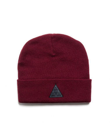 HUF - Triple Traingle Beanie - Burgundy