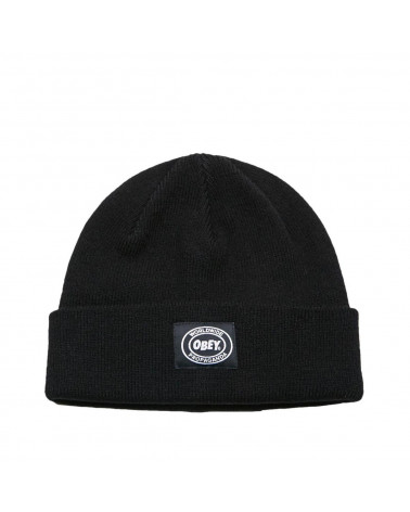 Obey - Cappello Onest Beanie - Black