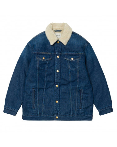 Carhartt - W' Trucker Jacket - Blue Denim