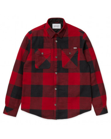 Carhartt - Graham Shirt - Blast/Red