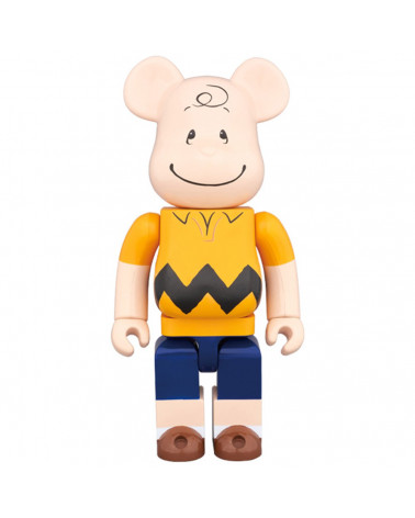 Medicom Toy - Bearbrick 400% - Charlie Brown